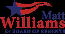 Matt Williams for Board of Regents