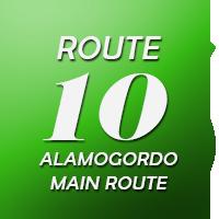 Route 10 Alamogordo Main Route