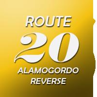 Route 20 Alamogordo Reverse