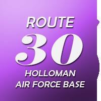 Route 30 Holloman Air Force Base