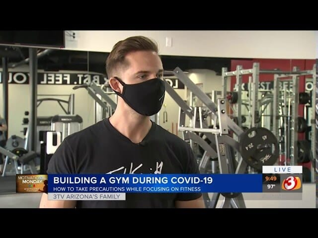 Todd Smith Fitness Phoenix on Channel 3