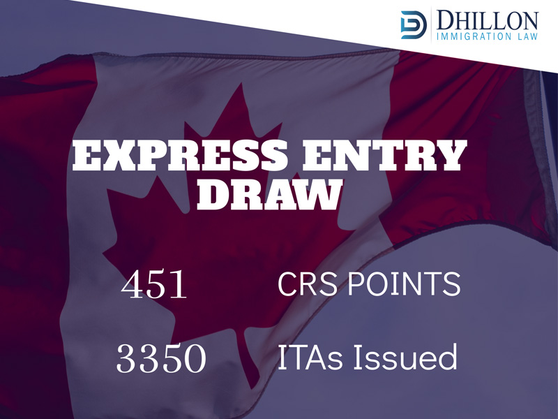 Express Entry Draw: April 3, 2019