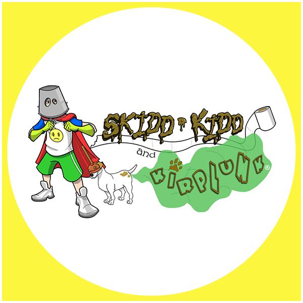 Skidd Kidd Logo bdr yellow