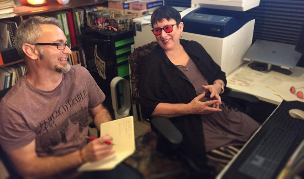 Dub Leffler and Cathie Tasker