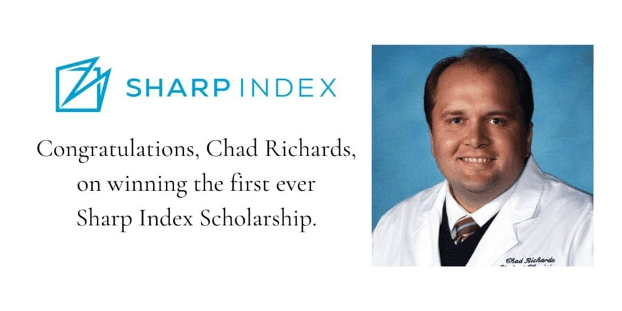 chad richards md,sharp index,sharp index scholarship,physician burnout