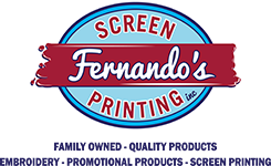 Fernando's Screen Printing Inc.  Logo