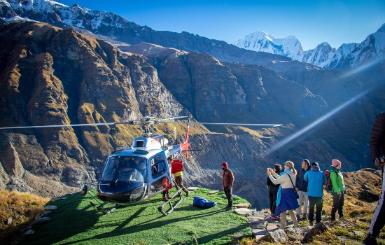 Annapurna Heli Sightseeing Day Tour