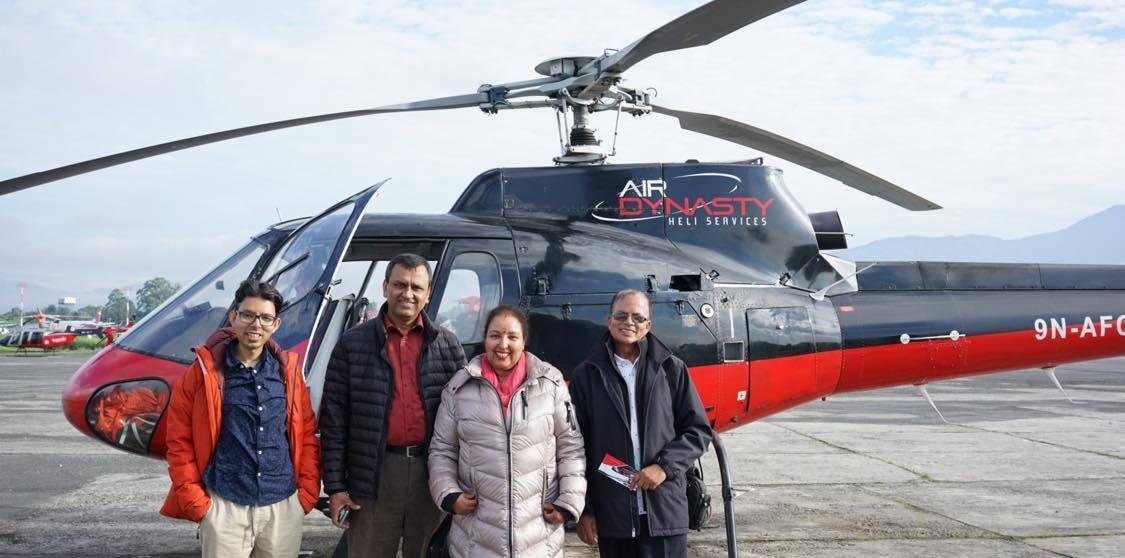 Gosaikunda Helicopter Day Tour