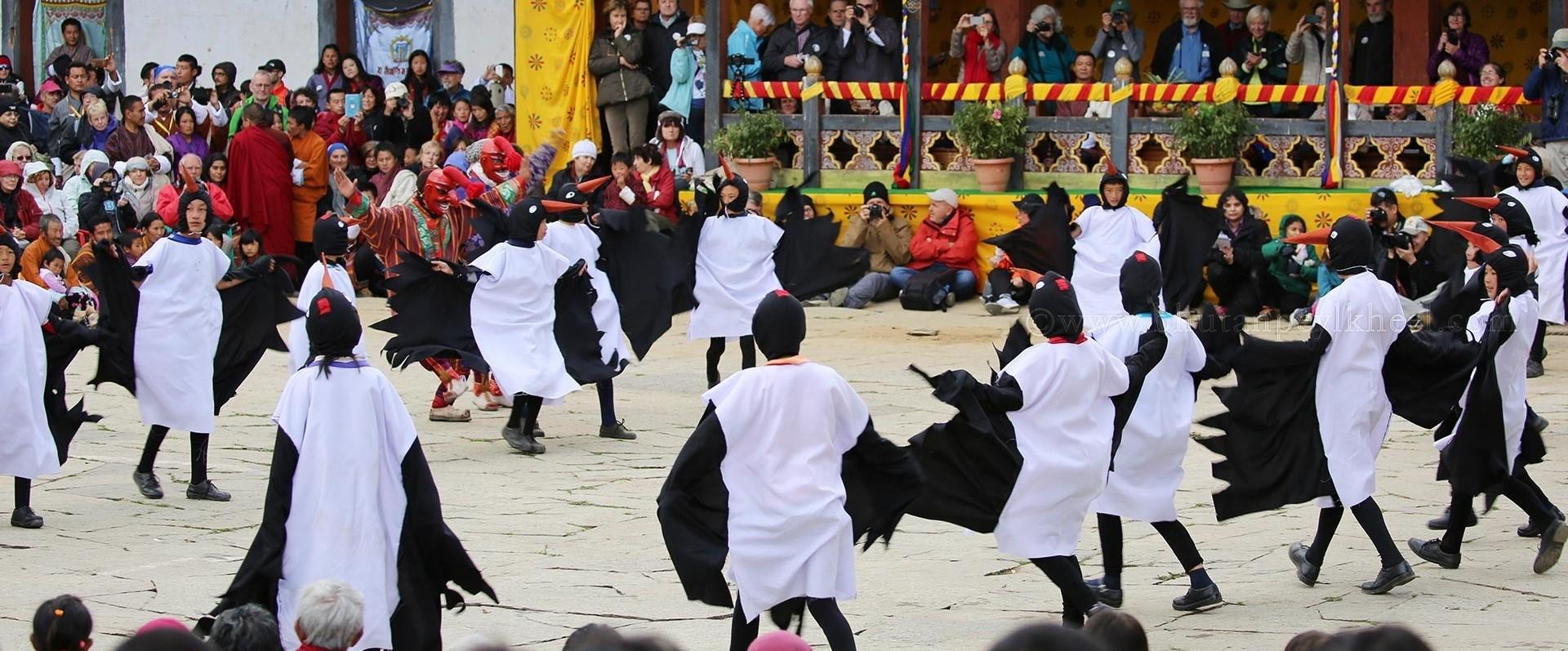 Bhutan Black-Necked Crane Annual Festival Tour (8 Days)