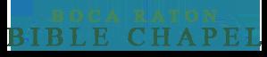 Boca Raton Bible Chapel Logo