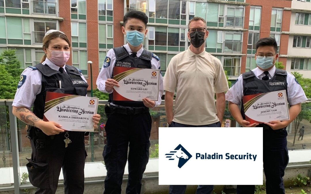 Vancouver security team worked together to save a life