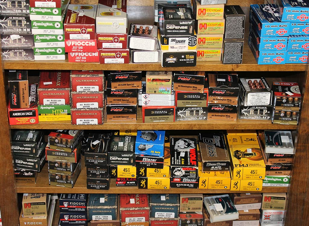We keep hard to find ammo in stock for shooting