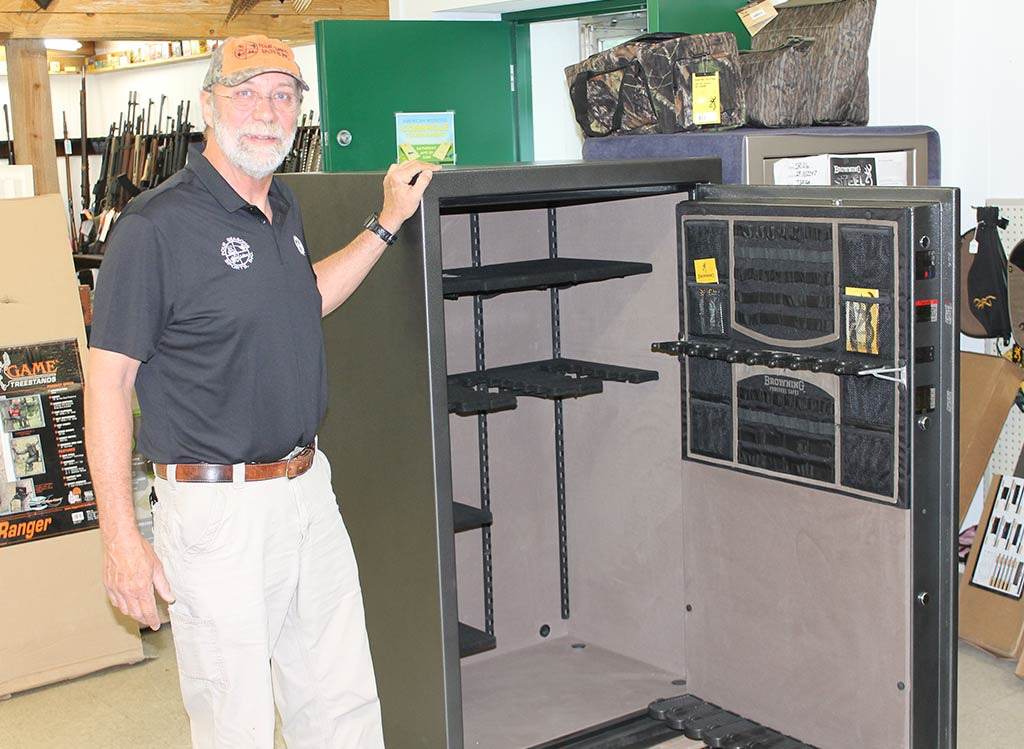 Ben Sauls and the Browning Sporter Safe