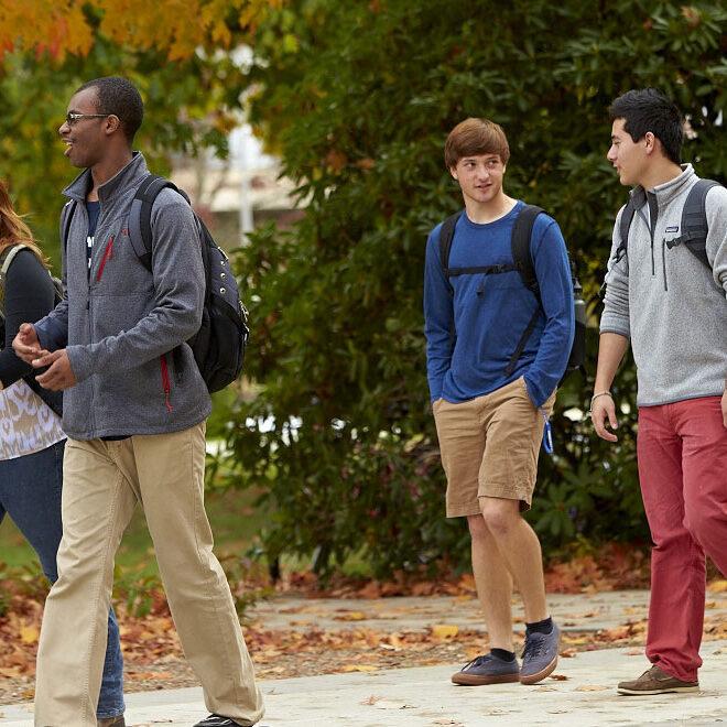 students-walking-Tallahassee
