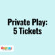 Private Play: 5 Tickets | Pop In! Play Space & Café