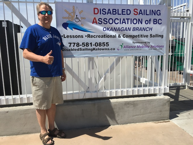 Disabled Sailing Association of Kelowna Event Held