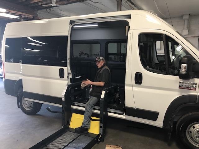 Alliance Full Van Shop