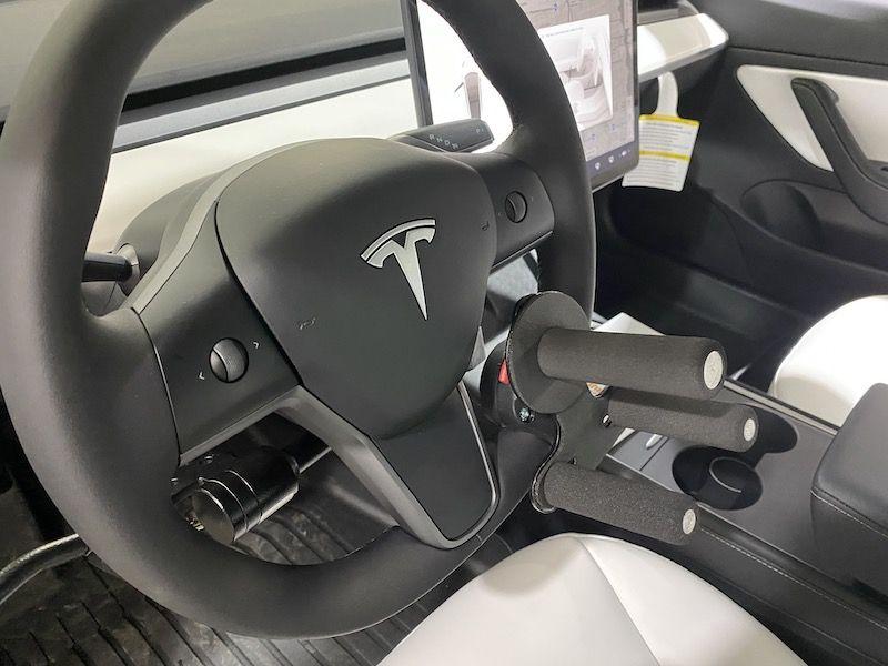 Hand Controls in TESLA Model 3