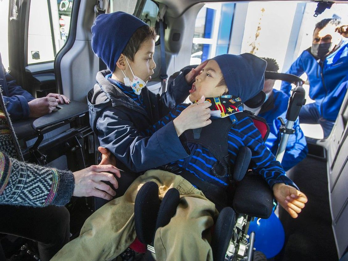 Vancouver Sun:   Van donation a life-changer for family of five-year-old Emiliano