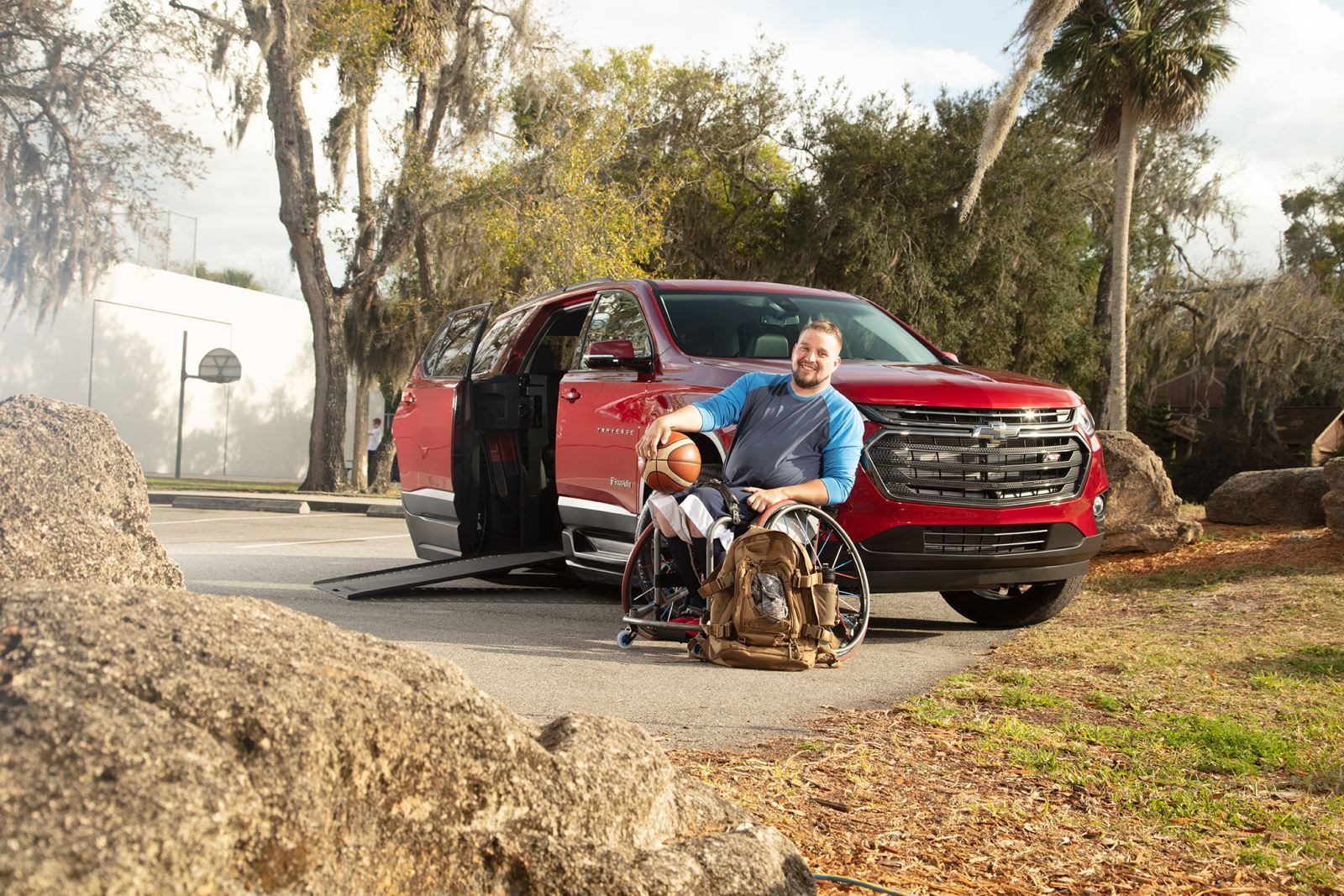 BraunAbility Chevrolet Traverse Accessible SUV