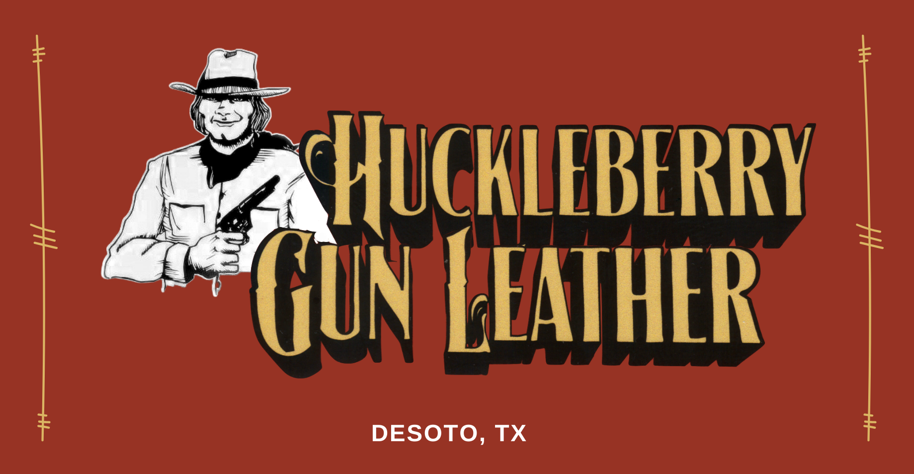 Huckleberry Gun Leather