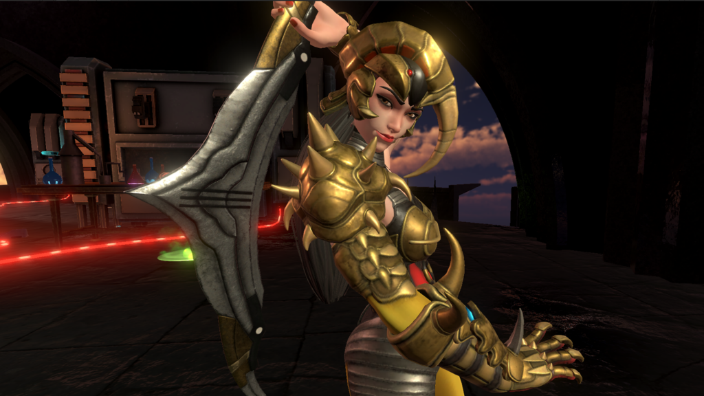 Scorpina Finally Enters the Grid