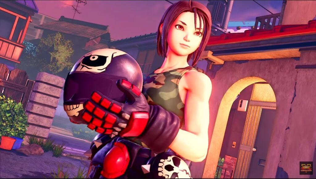 Akira Kazama Isn't Tardy For Street Fighter V