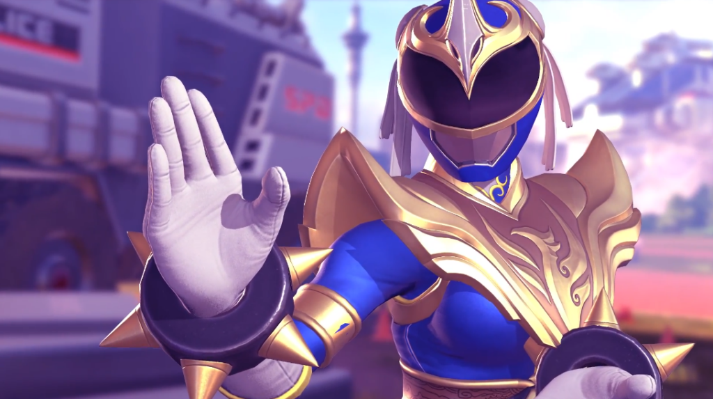 Chun-Li and Ryu Become Rangers in Power Rangers Battle for the Grid Coming This May