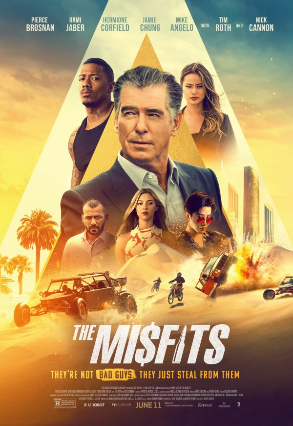 #TheMisfits releases in theatres next week