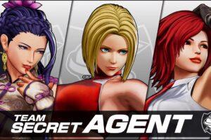SNK Reveals Team Secret Agent For #KOFXV
