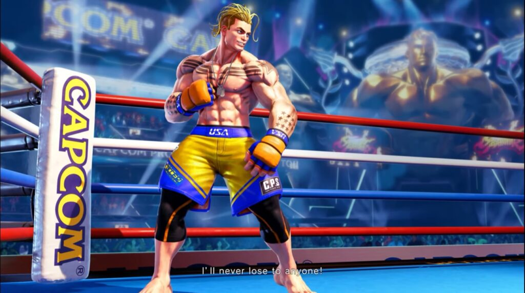 Newcomer Luke Is The Final Character Added to Street Fighter V