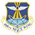 460th Space Wing logo