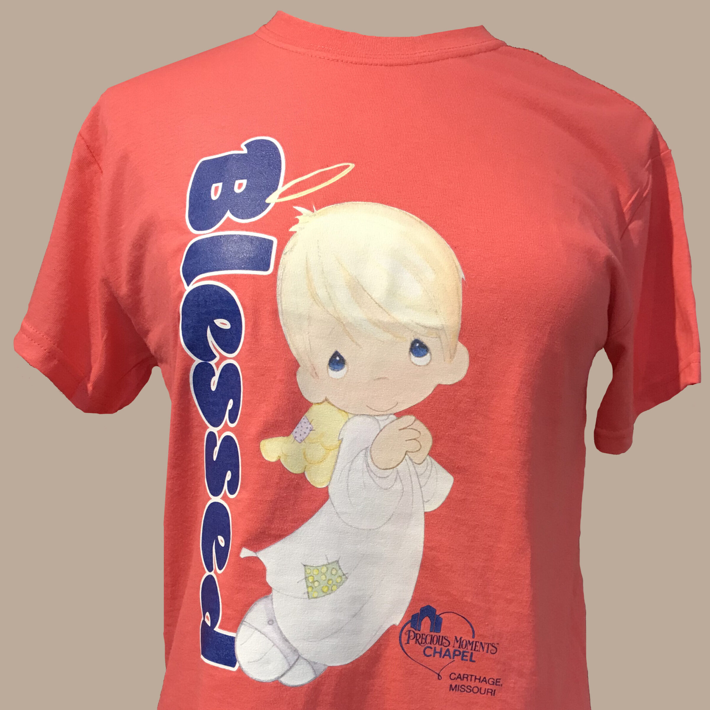 Coral Blessed T-Shirt Timmy The Angel