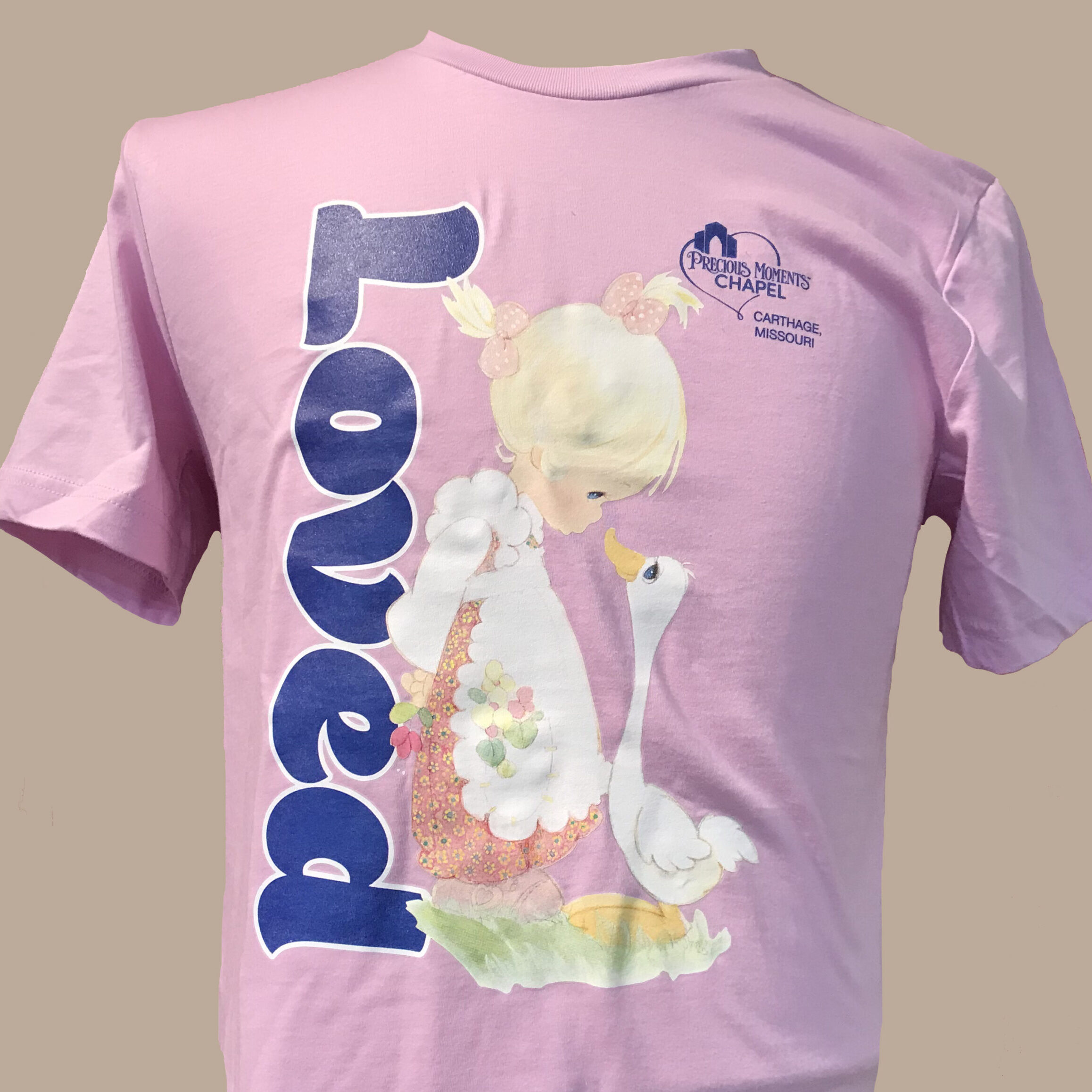Orchid Loved T-Shirt Make A Joyful Noise
