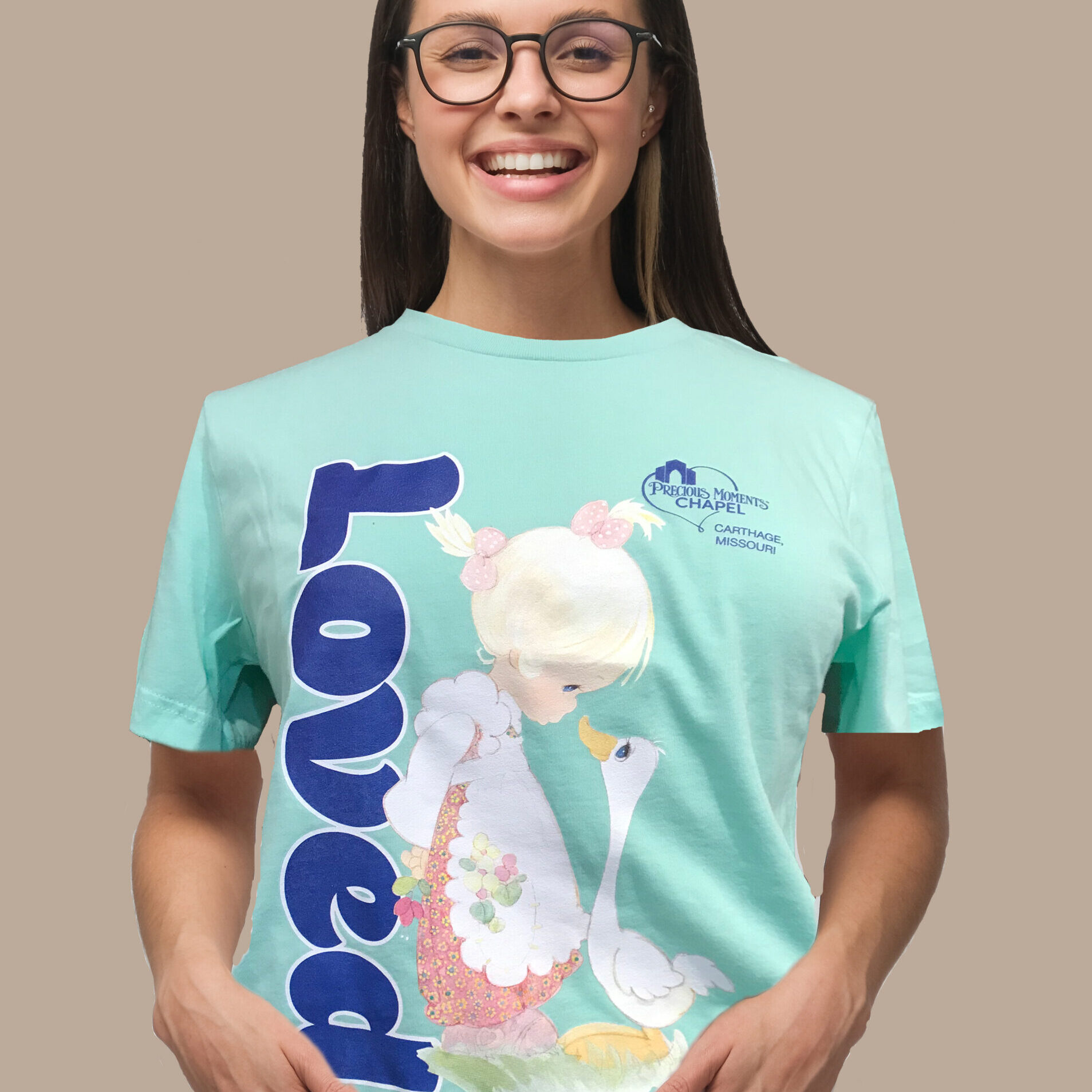 Teal Loved T-Shirt Make A Joyful Noise
