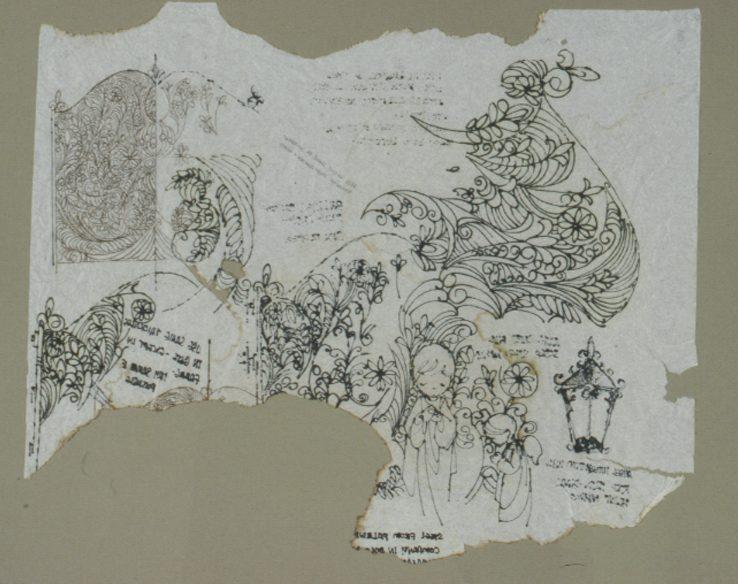 Museum - gate napkin FPO