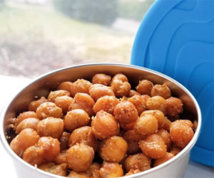 Roasted Chickpeas from Stuffed Suitcase