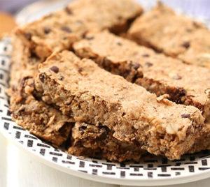 Peanut Granola Bars from The Healthy Maven