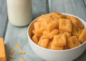 Easy Homemade Cheese Crackers from Living Well Mom