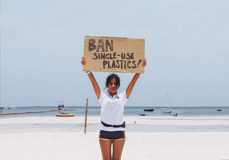 single-use plastic in the news