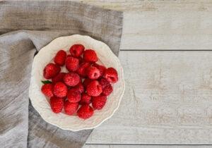 rasperries smoothies