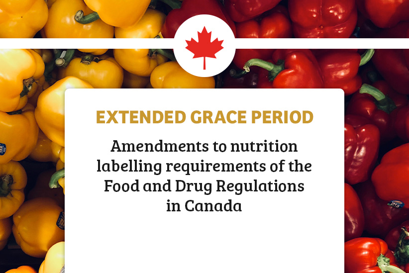 Health Canada Nutrition Facts Table Regulation Timeline Announcement