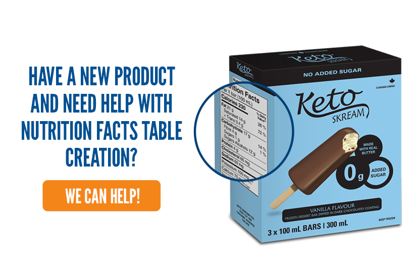 Clearing the Table: Nutrition Facts Tables