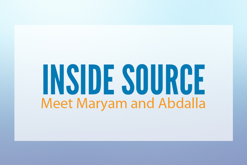 INSIDE SOURCE: Meet Maryam and Abdalla