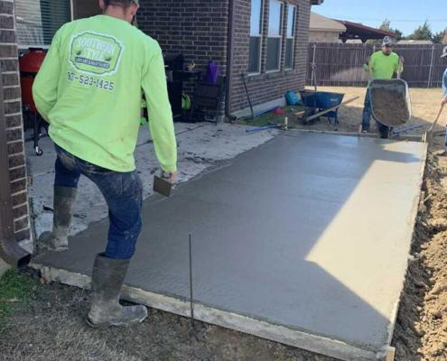 Concrete-contractor-forney-texas