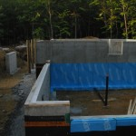 Home Inspection; Foundation Membrane