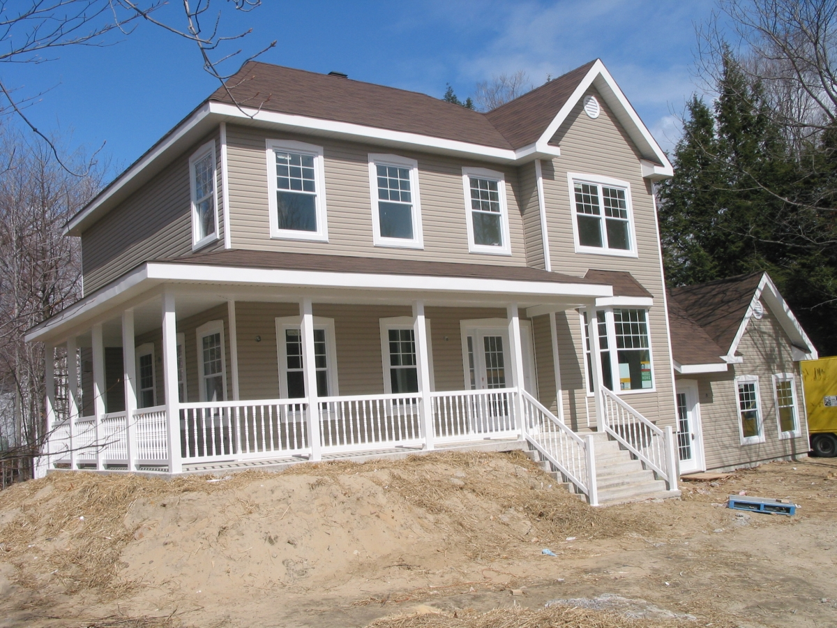 Home Inspection; Railing installation