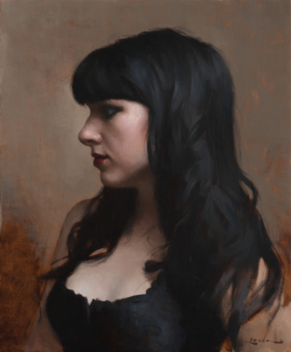 Goth Girl, 12 x 10, 2014