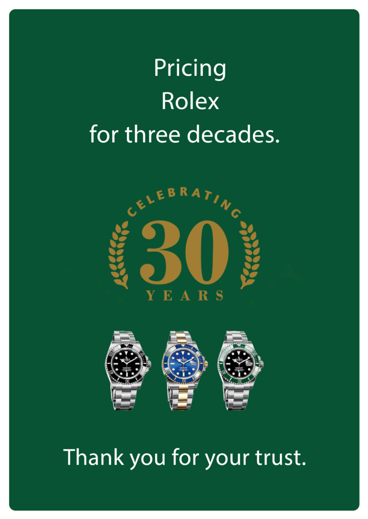 Rolex Price List