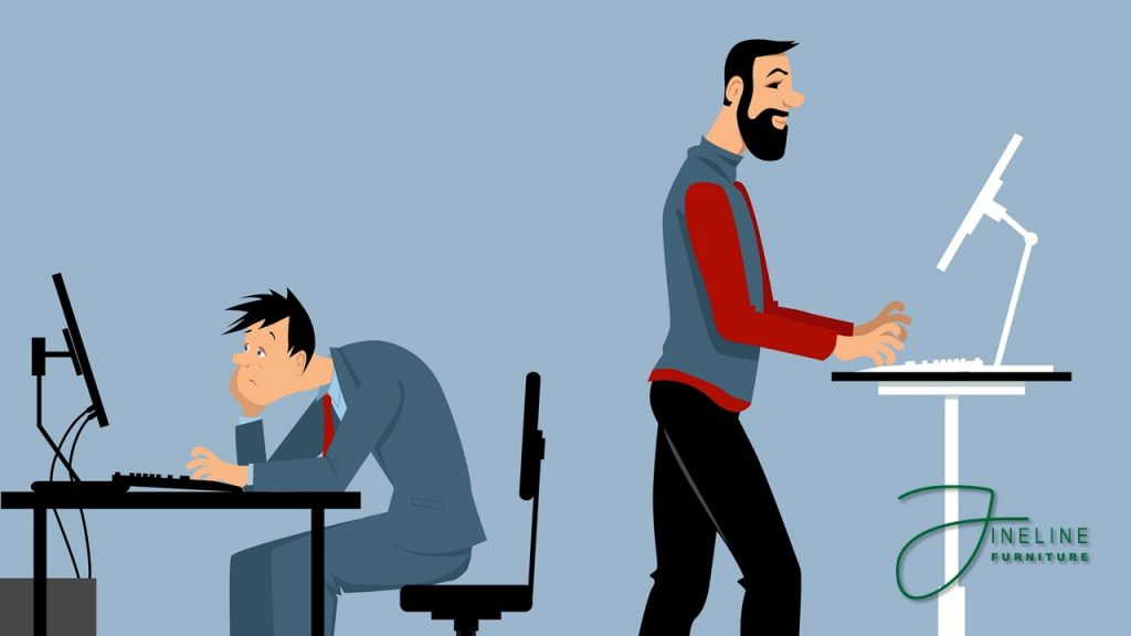 4 Benefits of Standing Desks